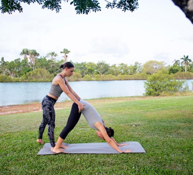 lezioni private di yoga con eleonora