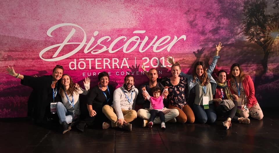 doterra convention 2019 foto di gruppo