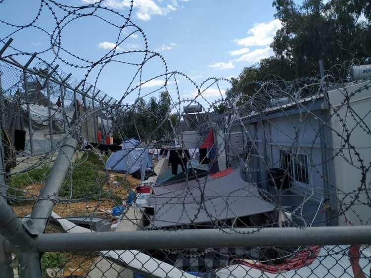 campo profughi lesbo